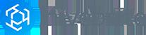 Logo marketing  blue